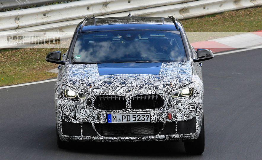 2018 BMW X2 (spy photo) - Slide 1