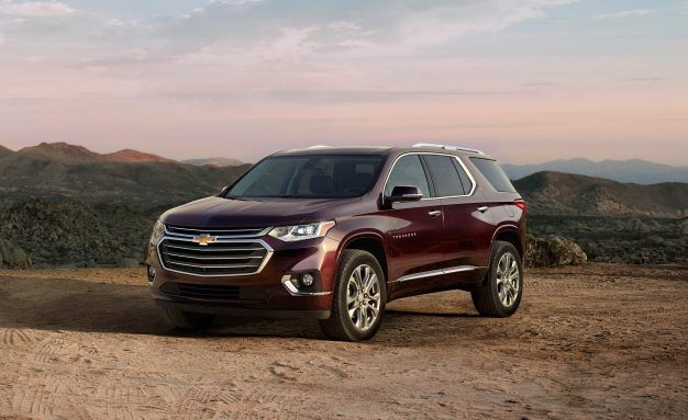 2018 Chevrolet Traverse Prices Run from $30,875 to $52,995
