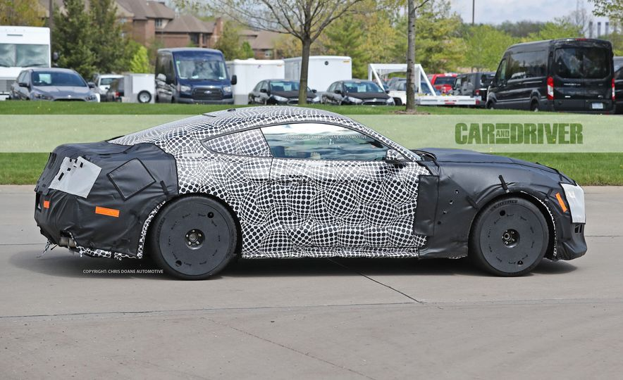 2018 Ford Mustang GT500 (spy photo) - Slide 7