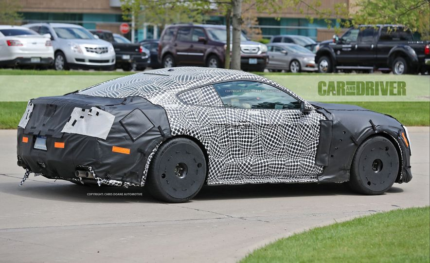 2018 Ford Mustang GT500 (spy photo) - Slide 8