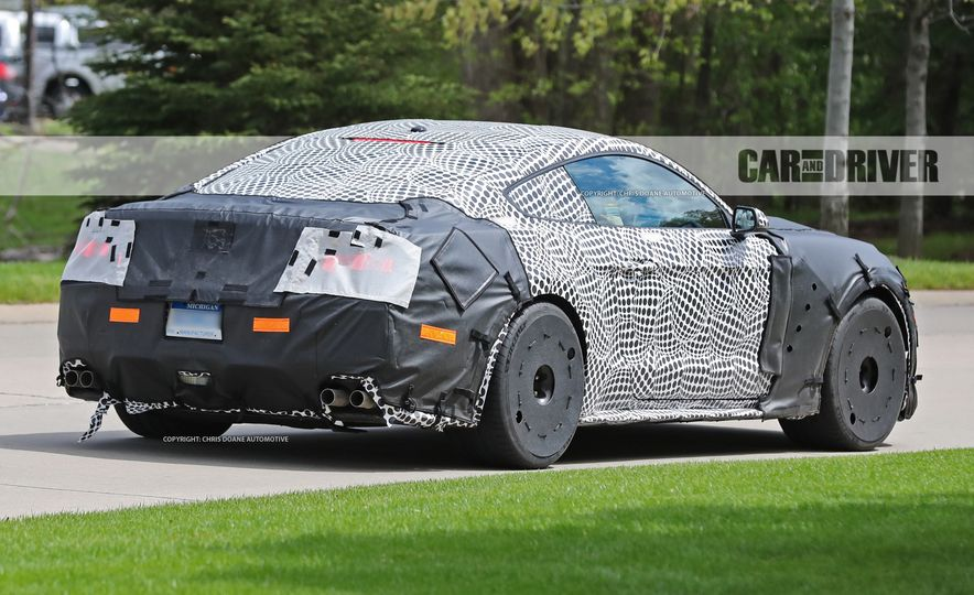 2018 Ford Mustang GT500 (spy photo) - Slide 9