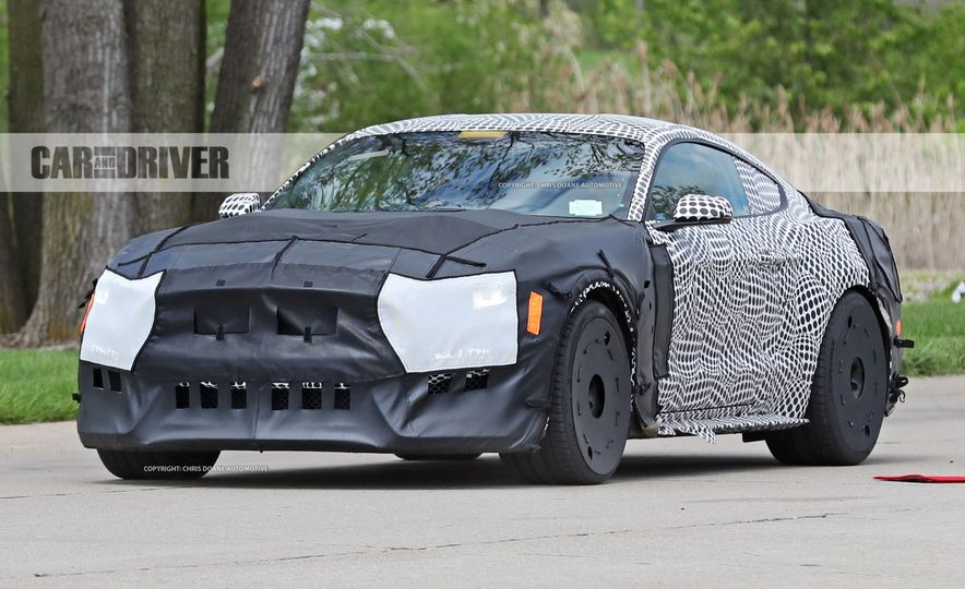 2018 Ford Mustang GT500 (spy photo) - Slide 11