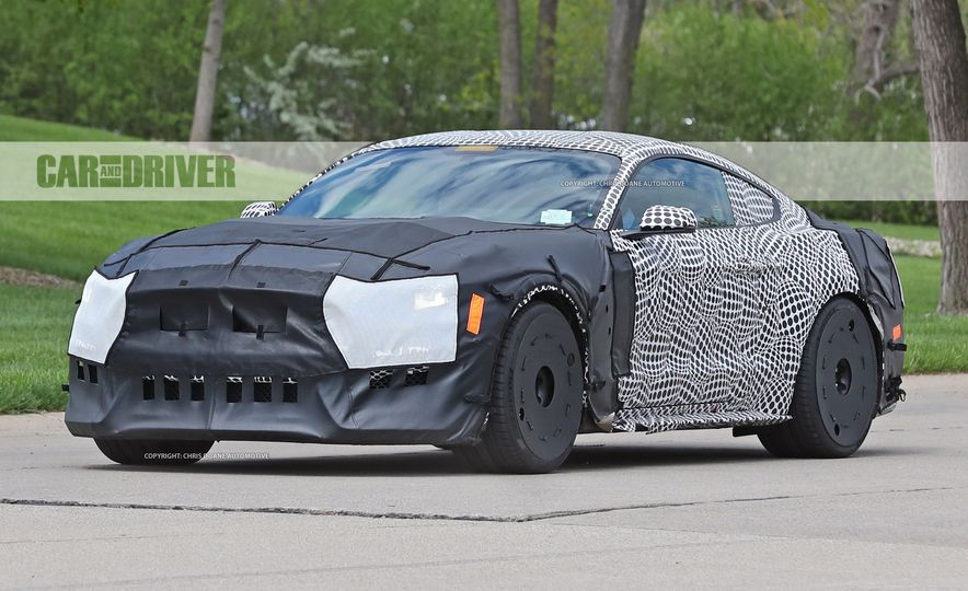 2018 Ford Mustang GT500 (spy photo) - Slide 12