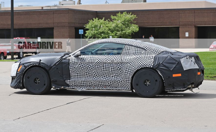 2018 Ford Mustang GT500 (spy photo) - Slide 17