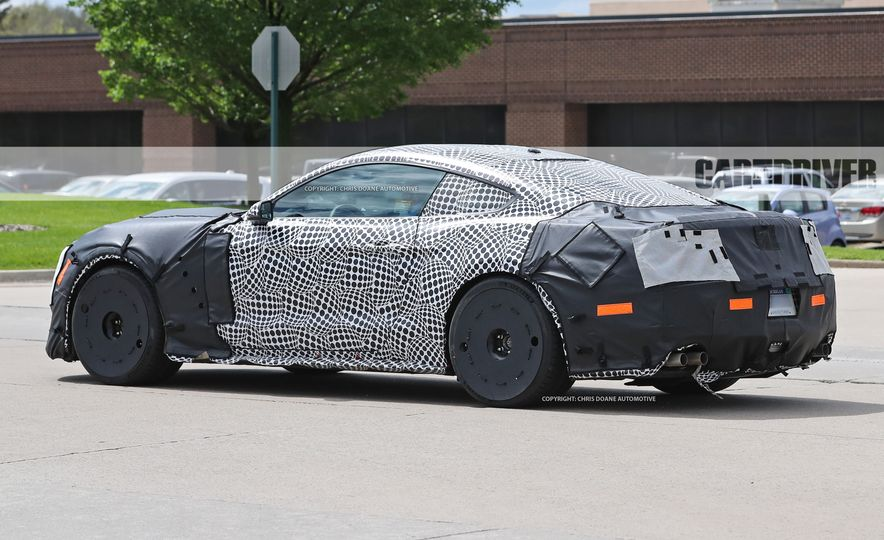 2018 Ford Mustang GT500 (spy photo) - Slide 18