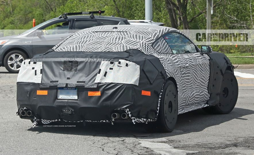 2018 Ford Mustang GT500 (spy photo) - Slide 21