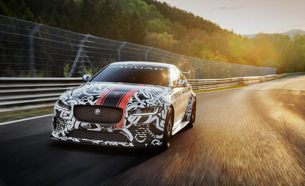 Jaguar Xe Sv Project 8 To Boast 592 Hp News Car And Driver