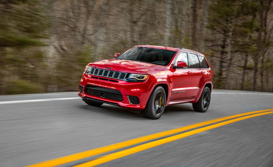 2018 Jeep Grand Cherokee Trackhawk - Slide 1