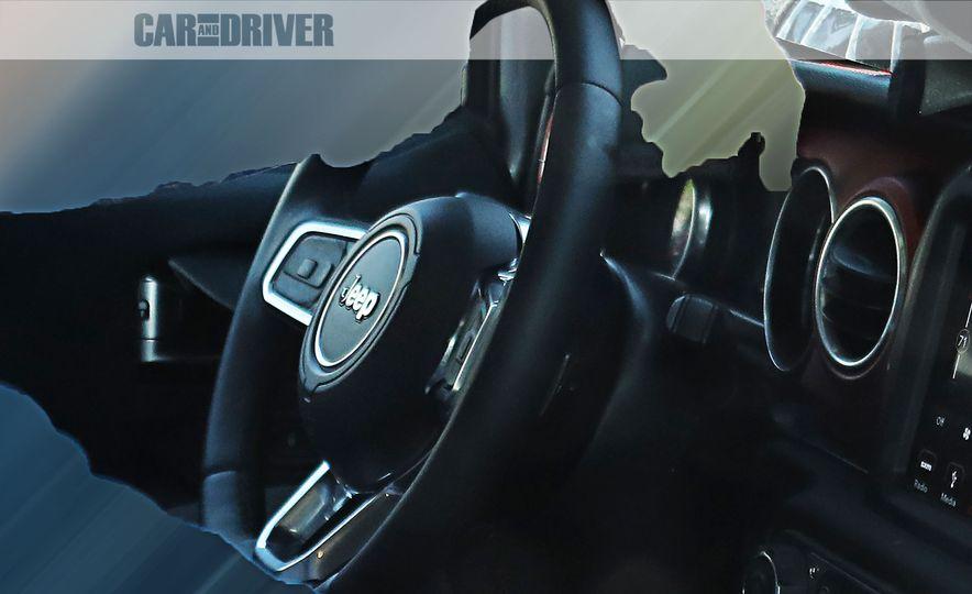 2018 Jeep Wrangler (artist's rendering) - Slide 14