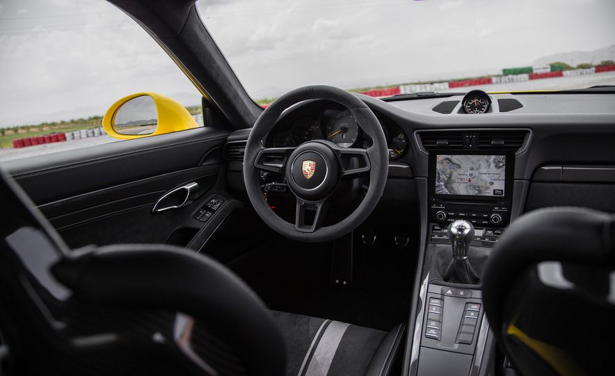Porsche GT Boss Andreas Preuninger on the GT3, PDK vs. Manual, and His Love of Alcantara - Slide 17