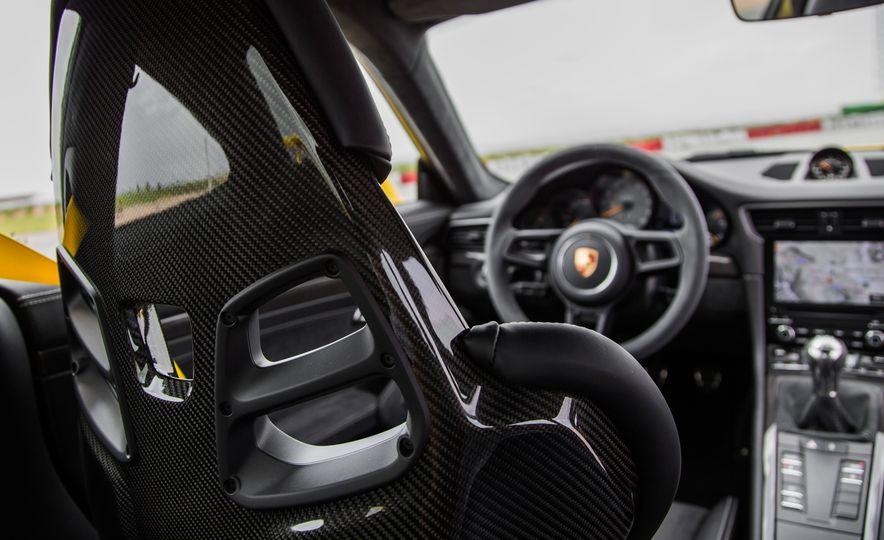 Porsche GT Boss Andreas Preuninger on the GT3, PDK vs. Manual, and His Love of Alcantara - Slide 21