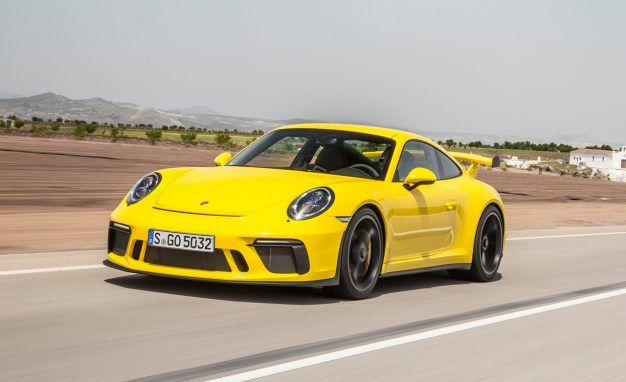 2018 Porsche 911 Gt3 With Touring Package First Drive Review Car