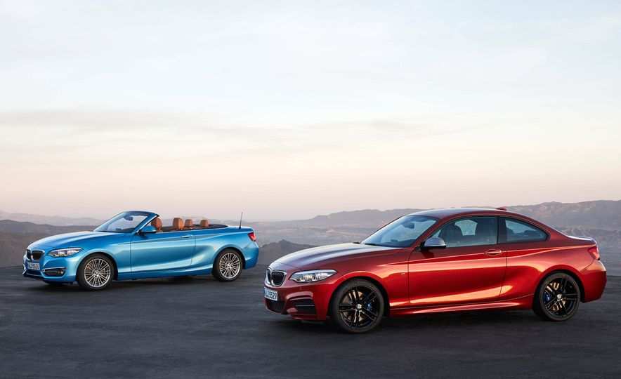 2018 BMW 2-Series Coupe and Convertible - Slide 1