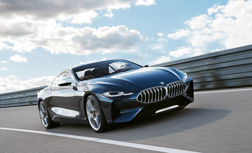 BMW Concept 8-series - Slide 1