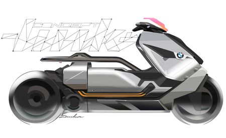 BMW Wants Its Motorrad Concept Link Scooter to Be Your Personal Mobility Assistant