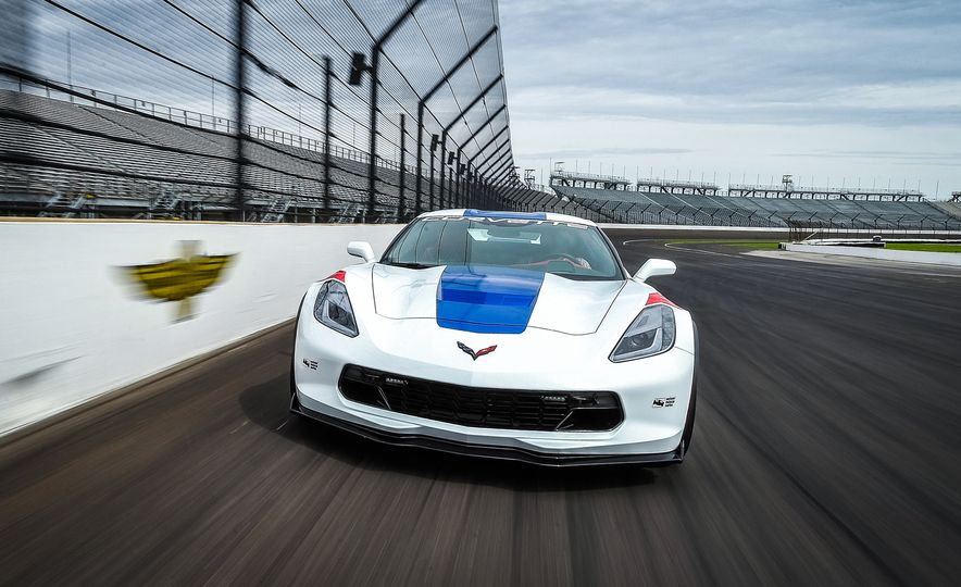 Chevrolet Corvette Grand Sport Indy 500 Pace Car - Slide 1