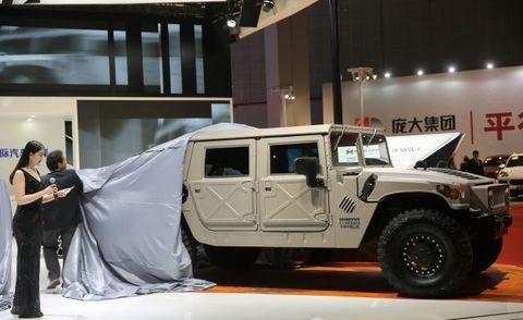 Humvee Hummer C Series Shanghai Auto Show