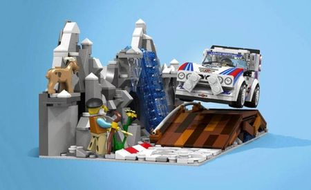 Help Turn These Awesome Lego Group B Rally Cars and Supercars into Real Kits
