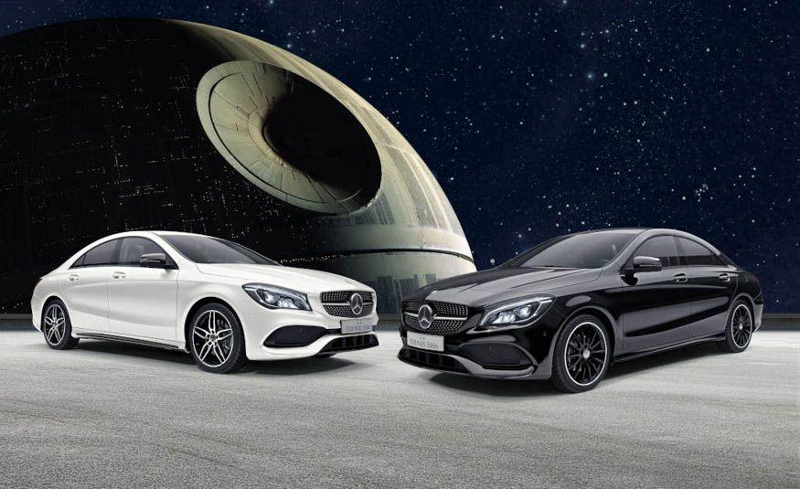 Mercedes-Benz CLA 180 Star Wars Edition - Slide 1