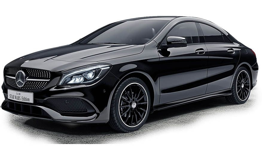 Mercedes-Benz CLA 180 Star Wars Edition - Slide 2