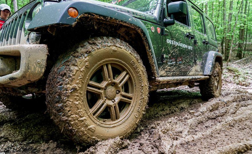 Stalking Bigfoot: We Go Muddin' with Firestone's New Off-Road Tire - Slide 15
