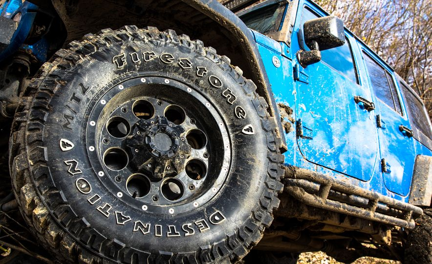 Stalking Bigfoot: We Go Muddin' with Firestone's New Off-Road Tire - Slide 17