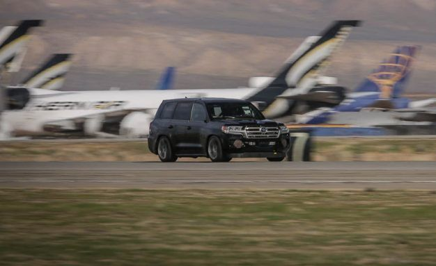 Not So Lumbering: Toyota Land Speed Cruiser Hits 230 MPH