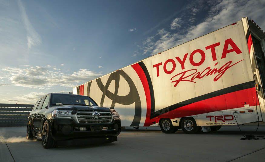 Toyota Land Speed Cruiser - Slide 2