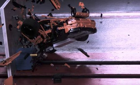 Smash It Up: Watch a Lego Porsche GT3 RS Get Crash Tested by Germany's ADAC [Video]