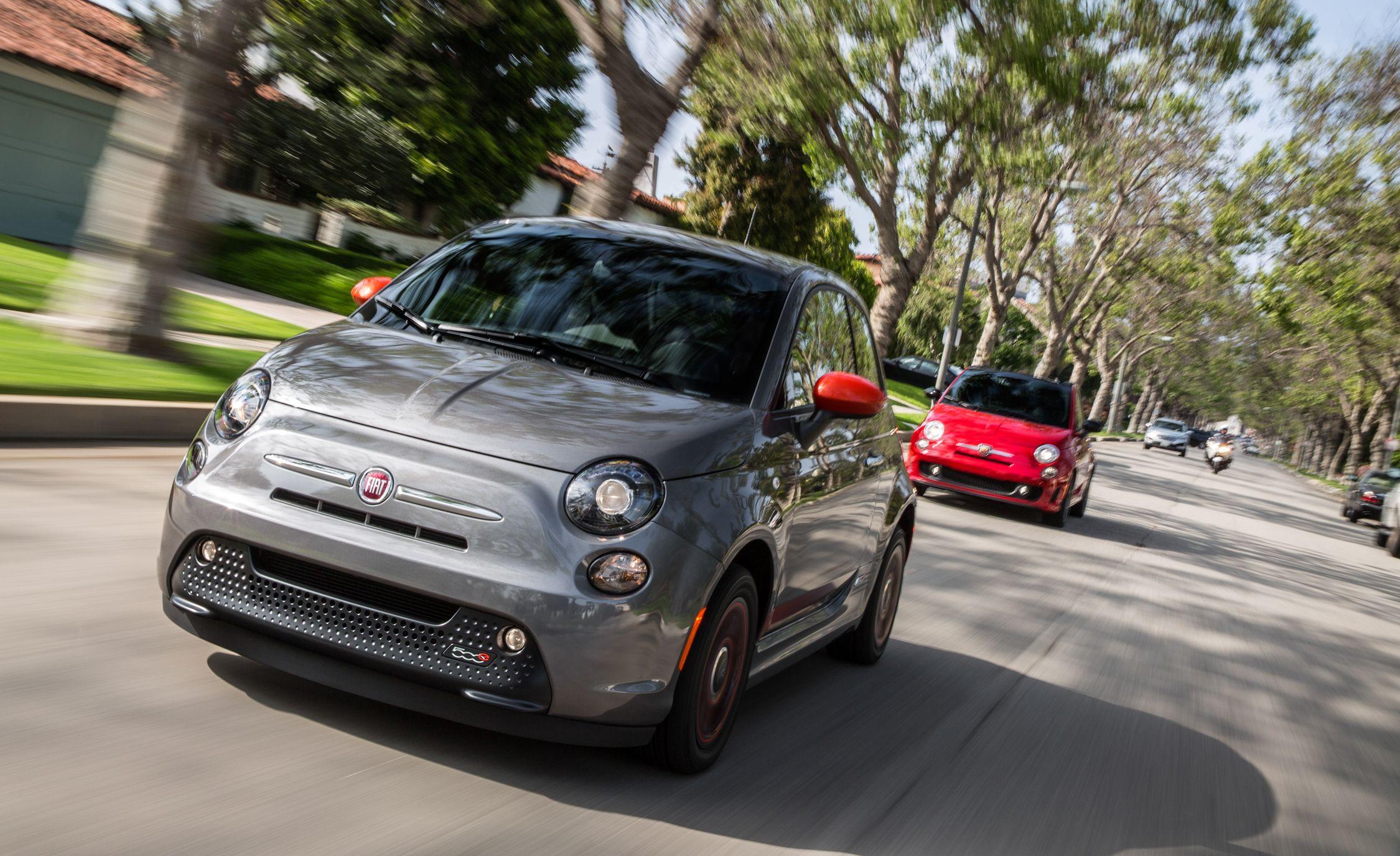 2018 Fiat 500e Reviews Price Photos And Specs Car Driver