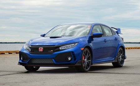 Red-Badged Tax Deduction: First 2017 Honda Civic Type R Goes to Auction