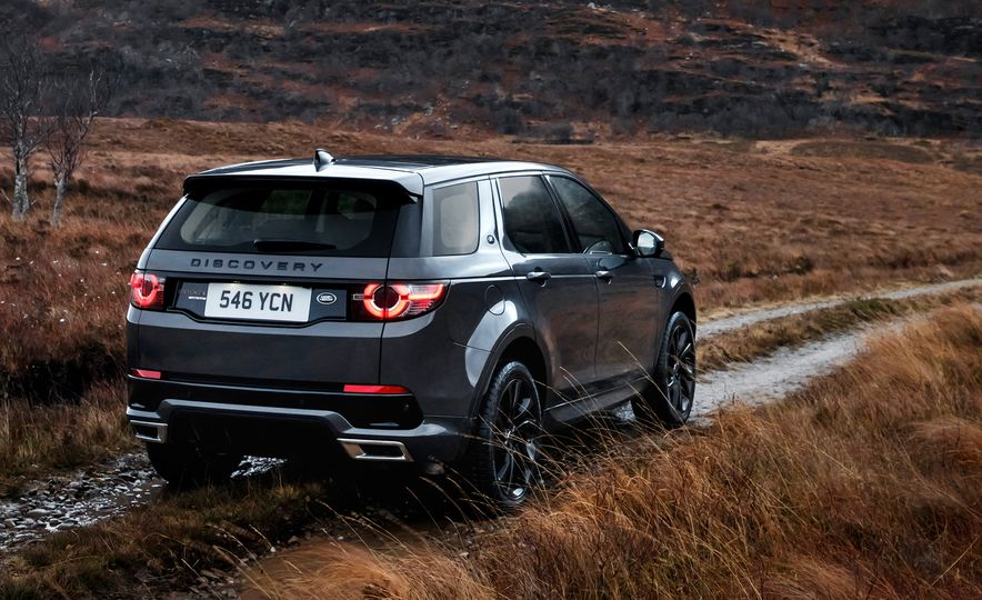 2017 Land Rover Discovery Sport - Slide 7