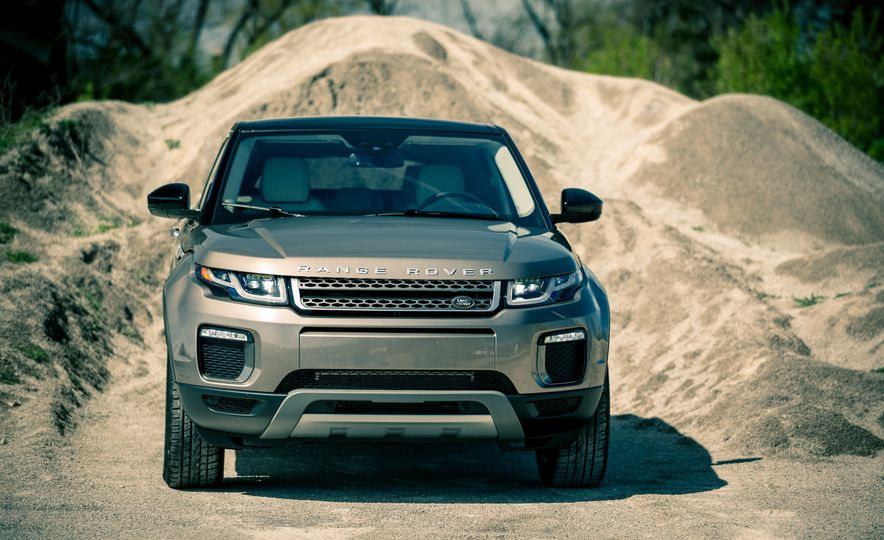 2017 Land Rover Range Rover Evoque - Slide 12