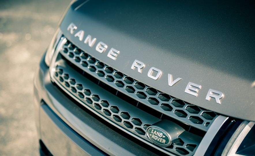 2017 Land Rover Range Rover Evoque - Slide 22