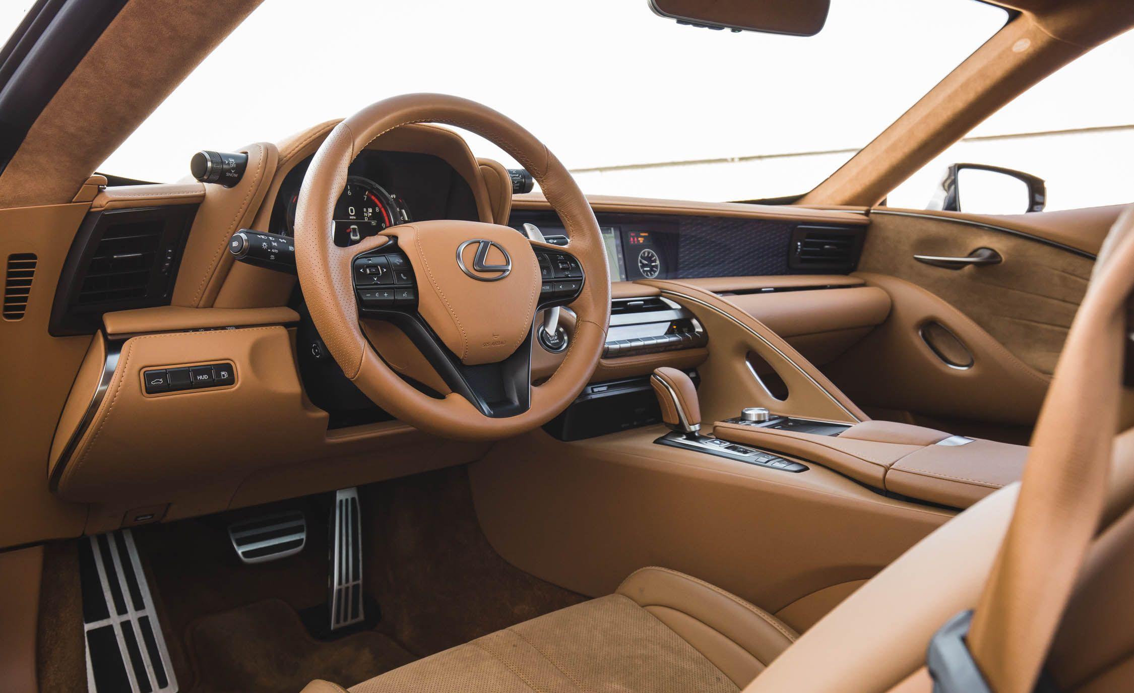 2019 Lexus Lc Reviews Price Photos And Specs Car Driver