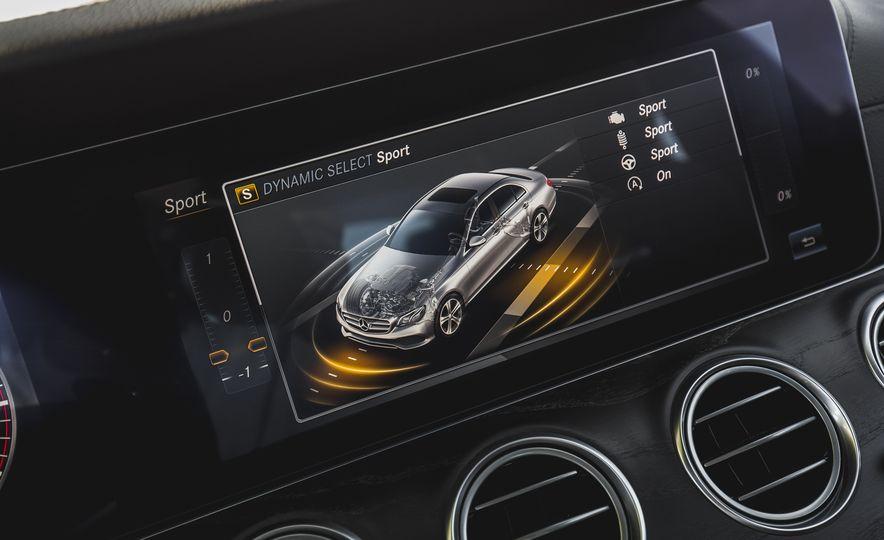 2017 Mercedes-AMG E43 - Slide 61