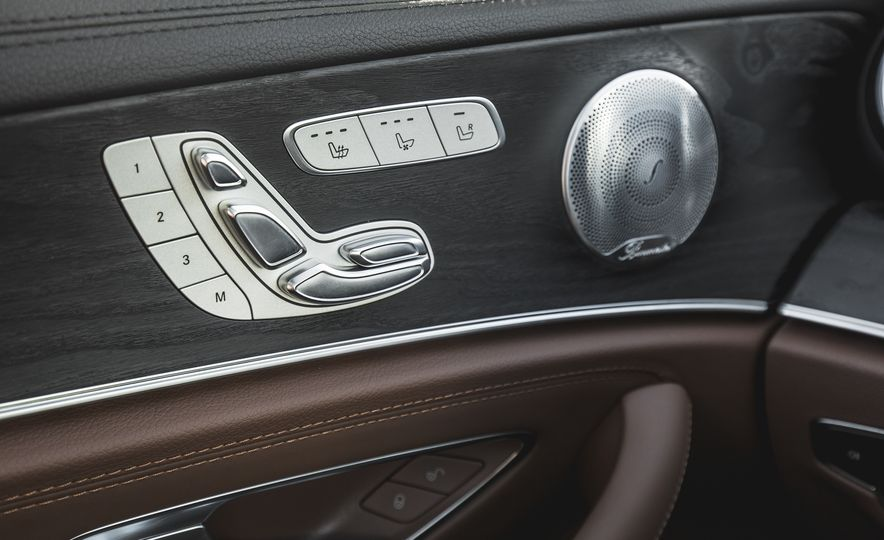 2017 Mercedes-AMG E43 - Slide 77
