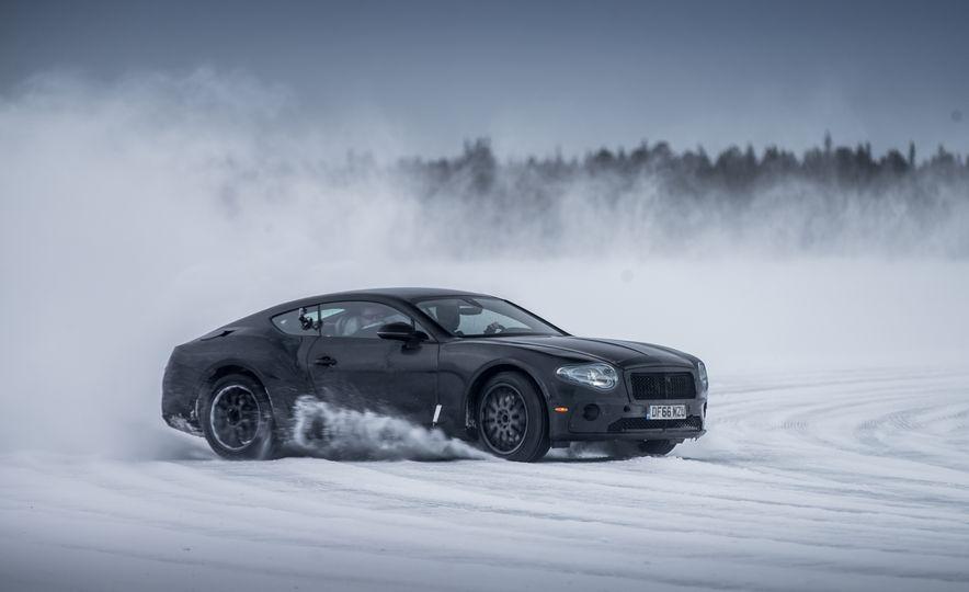 2018 Bentley Continental GT prototype - Slide 17