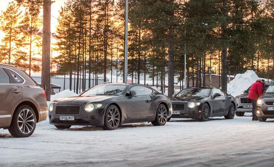 2018 Bentley Continental GT prototype - Slide 28