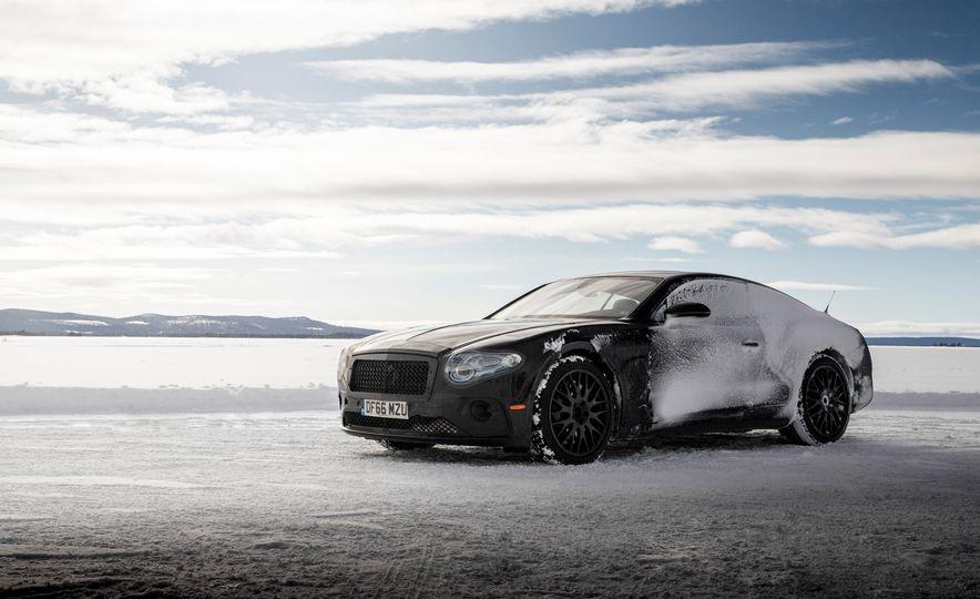 2018 Bentley Continental GT prototype - Slide 30