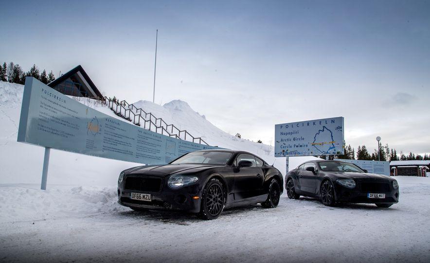 2018 Bentley Continental GT prototype - Slide 31