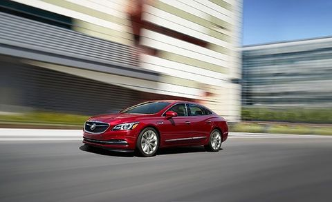 2018 Buick Lacrosse In New Red Quartz Tintcoat