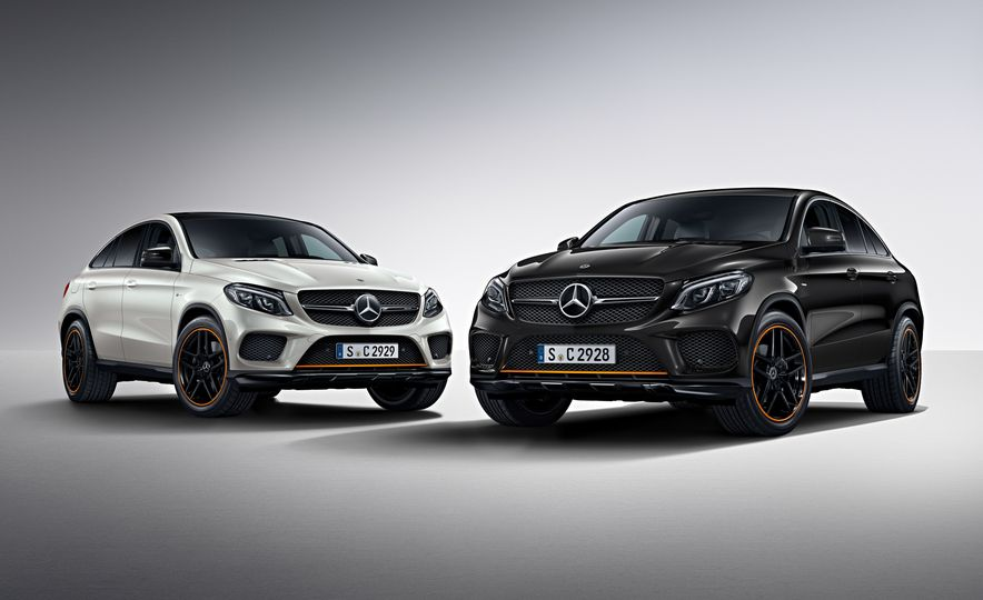 2018 Mercedes-AMG GLE43 Coupe OrangeArt Edition and 2018 Mercedes-Benz GLE350d OrangeArt Edition (Euro-spec) - Slide 1