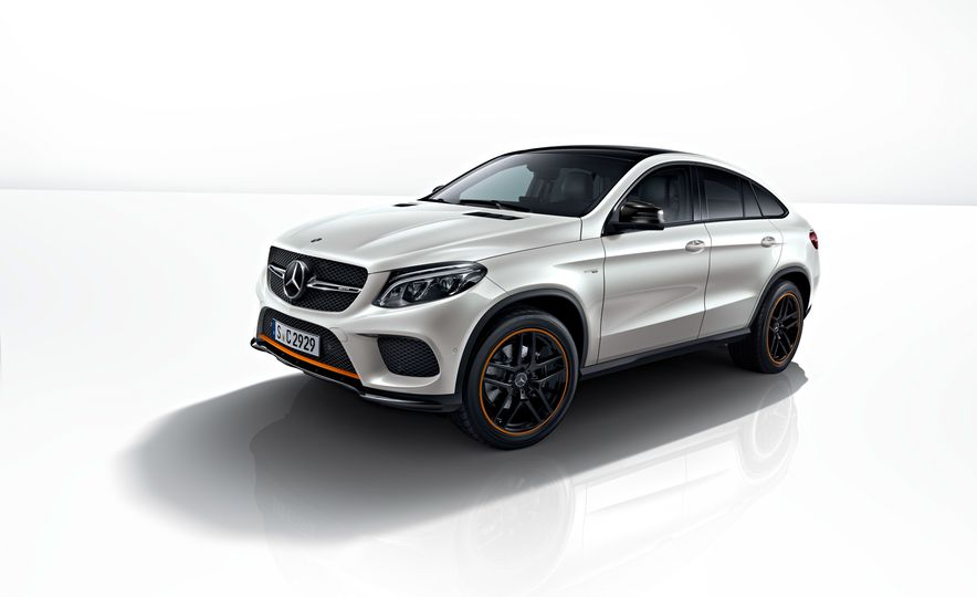 2018 Mercedes-AMG GLE43 Coupe OrangeArt Edition and 2018 Mercedes-Benz GLE350d OrangeArt Edition (Euro-spec) - Slide 2