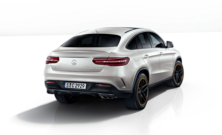 2018 Mercedes-AMG GLE43 Coupe OrangeArt Edition and 2018 Mercedes-Benz GLE350d OrangeArt Edition (Euro-spec) - Slide 3