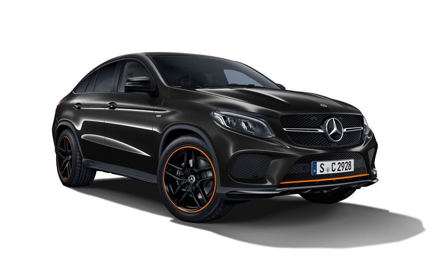 2018 Mercedes-AMG GLE43 Coupe OrangeArt Edition and 2018 Mercedes-Benz GLE350d OrangeArt Edition (Euro-spec) - Slide 6