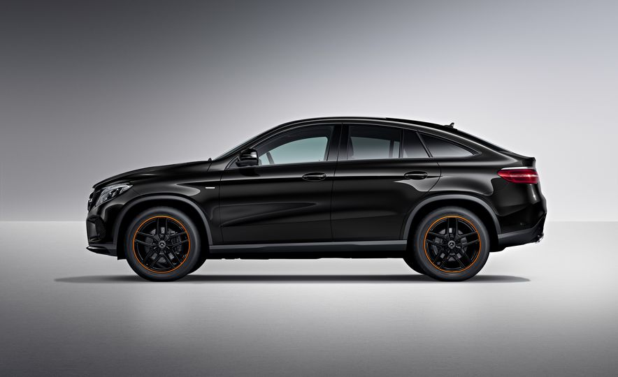 2018 Mercedes-AMG GLE43 Coupe OrangeArt Edition and 2018 Mercedes-Benz GLE350d OrangeArt Edition (Euro-spec) - Slide 8