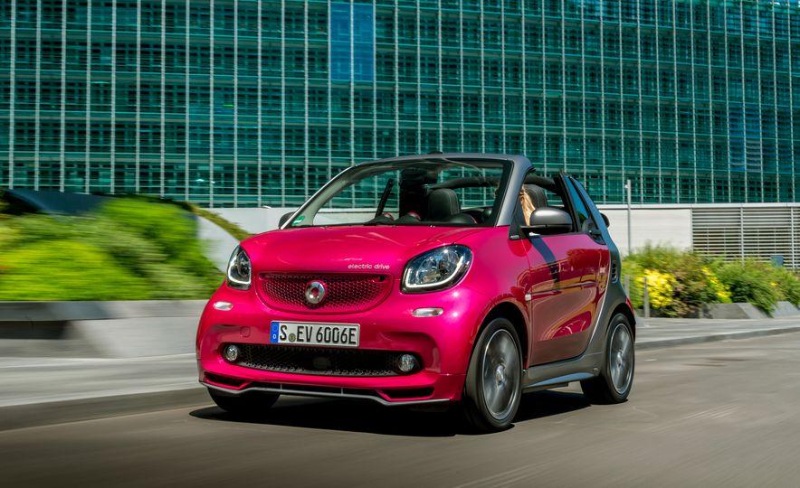 2018 Smart Electric Drive Cabriolet - Slide 41