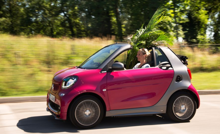 2018 Smart Electric Drive Cabriolet - Slide 43
