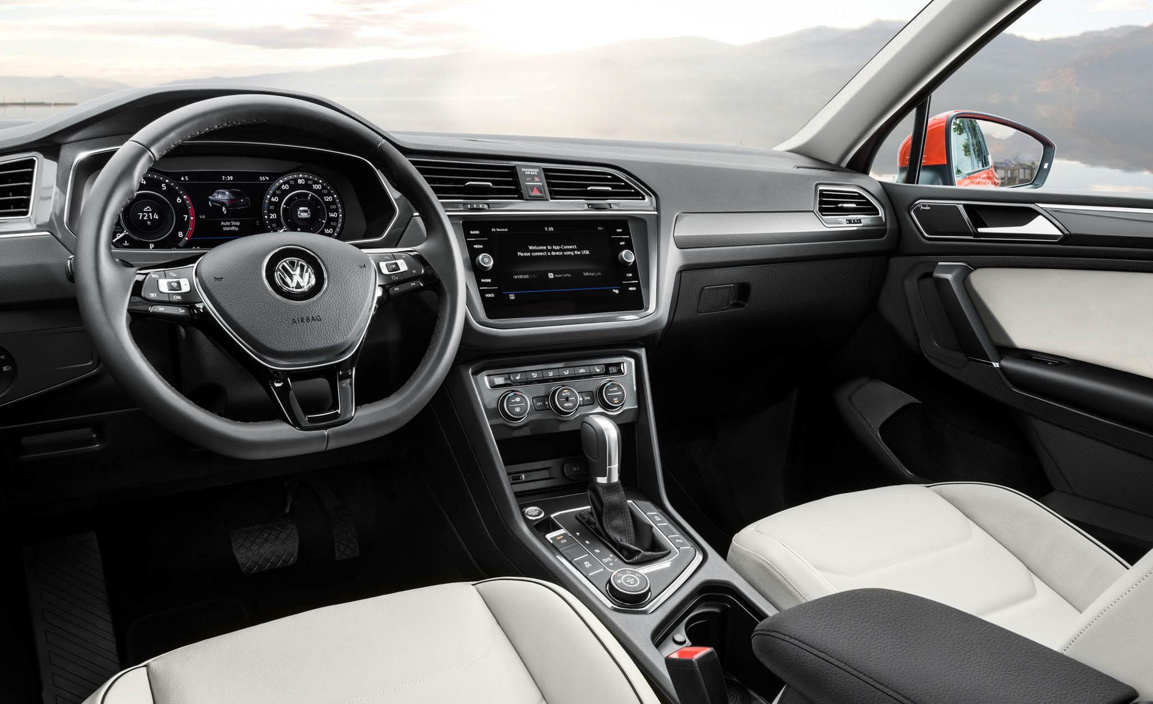 2019 Volkswagen Tiguan Reviews Price Photos And Specs Car Driver